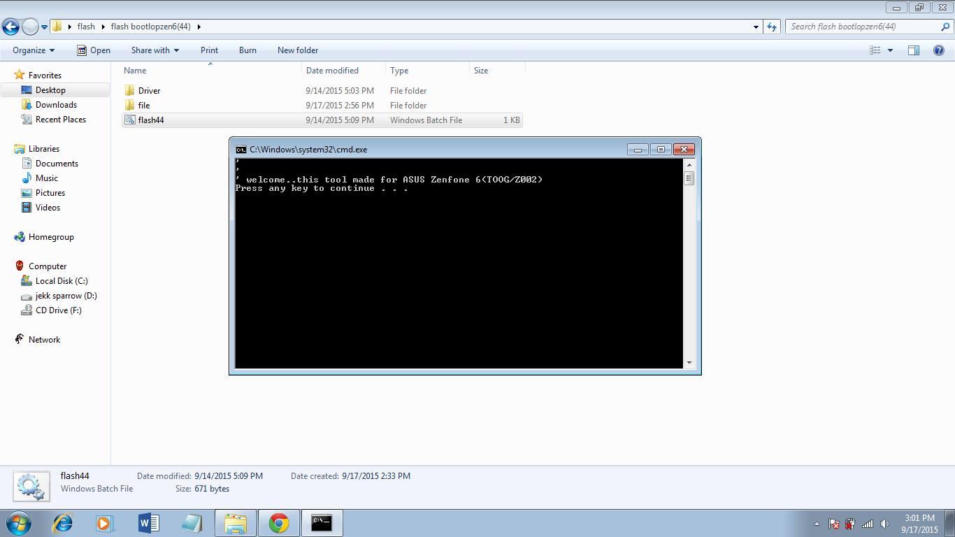 jekk sparrow tutorial bergambar flash firmware zenfone 6