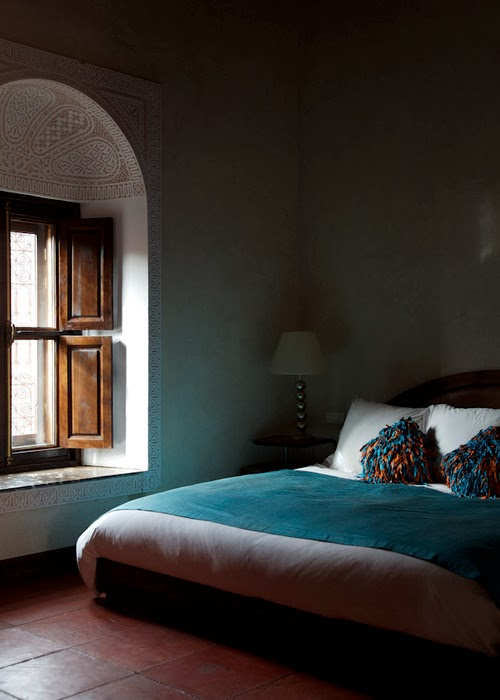 Blue interiors/lulu klein