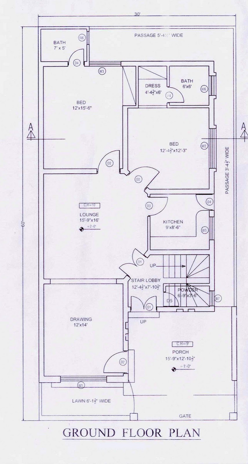 house map plan