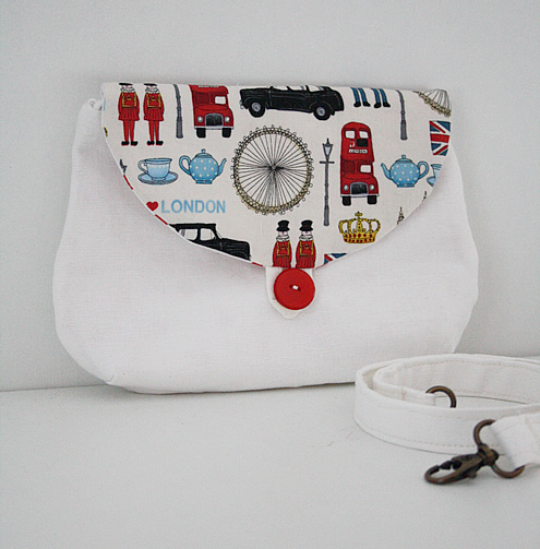 London clutch purse