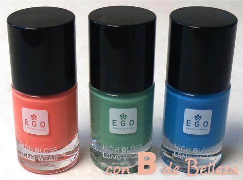 Lacas de uñas EGO