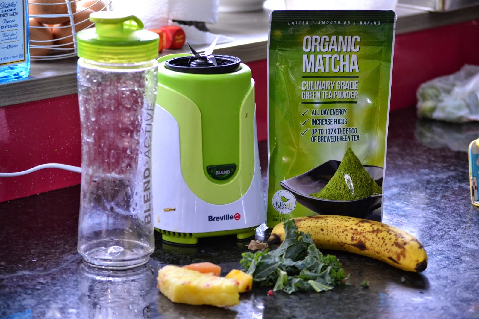 Organic Matcha Smoothie Recipe