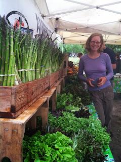 Charleston, SC farmers' market - local!