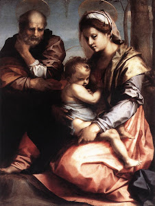 The Holy Family, Andrea del Sarto, c.1528 (Web Gallery of Art)