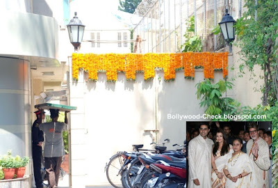 Amitabh House Photo on Amitabh Bachchan  Jaya  Abhishek And Aishwarya S Home