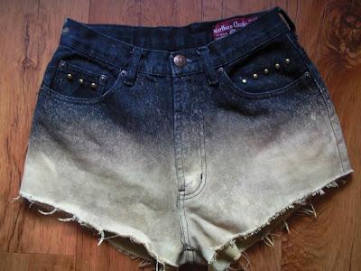 ombre-rozjaśniony jeans-najlepsze diy-trendy 2012-hit blogerek