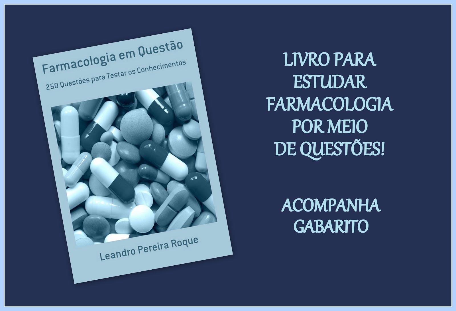 LIvro com Questões de Farmacologia