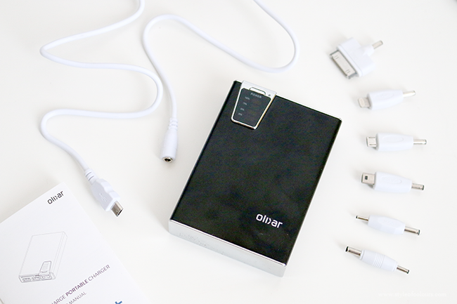 Portable charger for charging your phone on the go