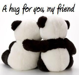 hug for my friend