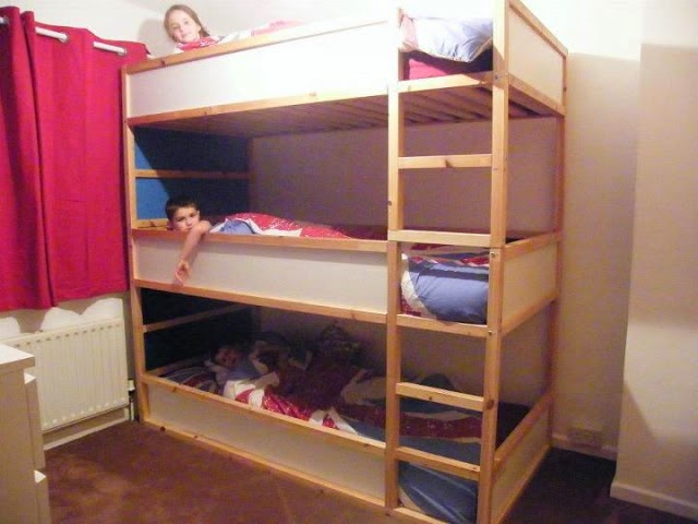 How To Make Triple Bunk Beds Woodworking Plus