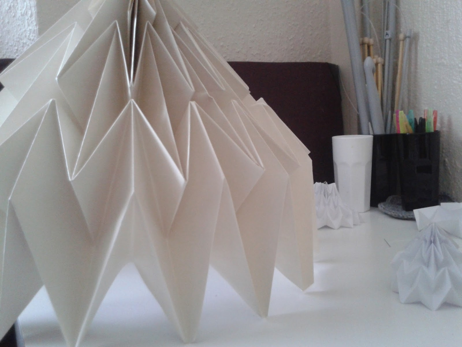 Memnos and mesmer diy origami lampshade diy origami lampshade aloadofball Gallery