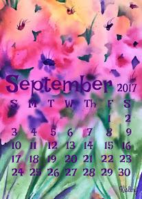 FREE!!! - September Calendar!