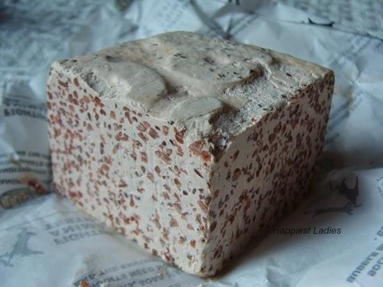 Lush Handmade Porridge Soap