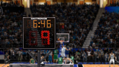 NBA 2K13 Amway Center New Shot Clock Daktronics