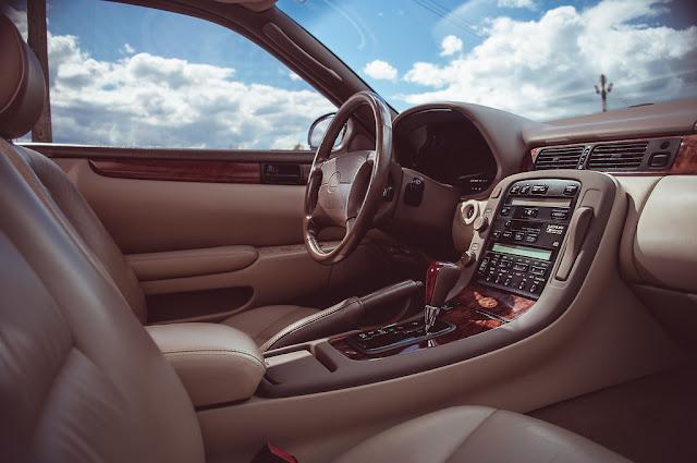 Lexus SC, Z30, luksusowe samochody, komfortowe, bogato wyposażone, wnętrze japońskich samochodów