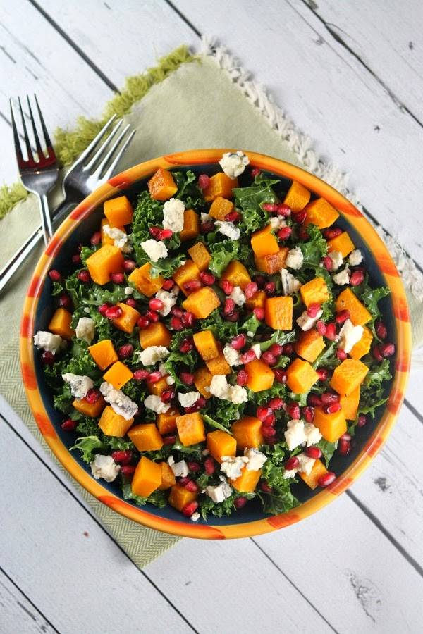 ENTERTAINING WITH SKY: Winter Kale Salad