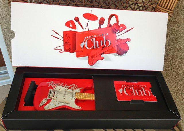 Brinde de quem comprar o ingresso no Rock In Rio Club antecipado