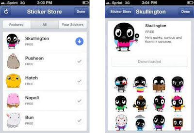 New Facebook Smileys And Stickers
