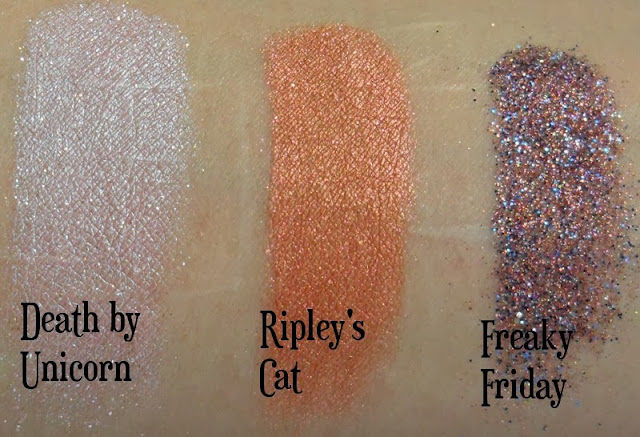 Darling Girl Oh The Horror Swatches