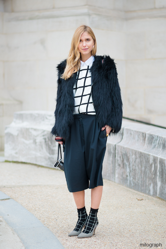 Mitograph Pernille Teisbaek After Acne 2013 2014 Fall Winter Paris Fashion Week Pfw Street Style