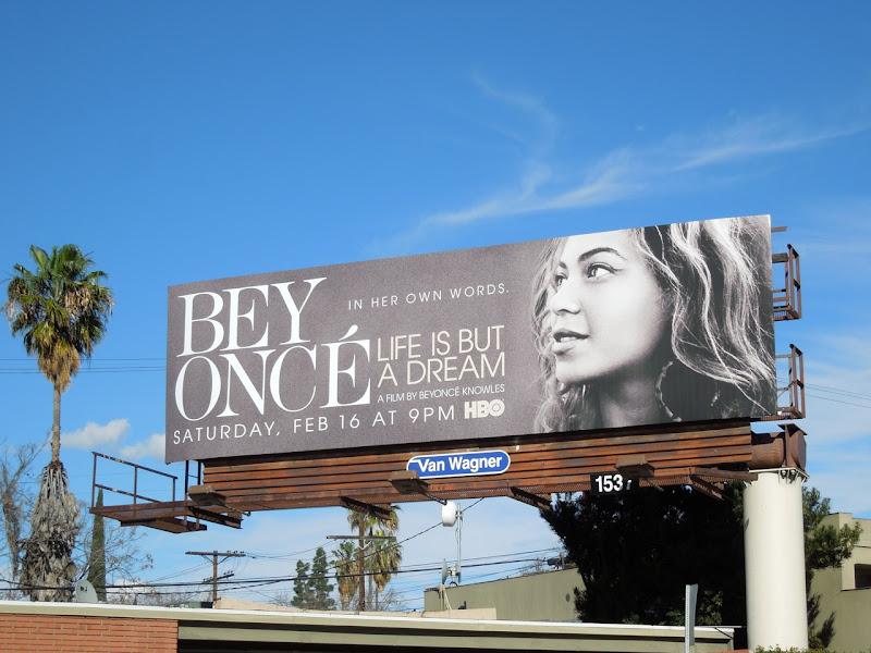 Beyoncé Life Dream HBO billboard