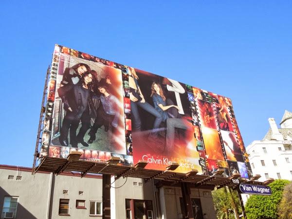 Calvin Klein Jeans RCKR KICK billboard