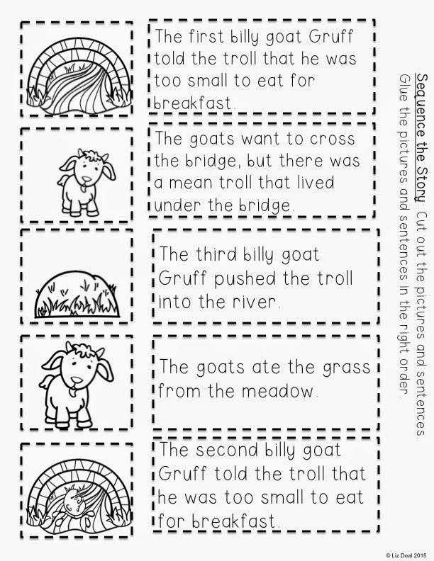 Polka Dot Firsties: 3 Billy Goats Gruff