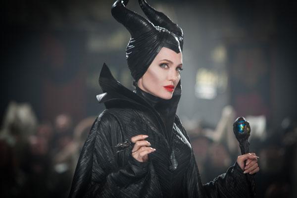 Angelina Jolie, Imágenes de la película MALÉFICA, Maleficent