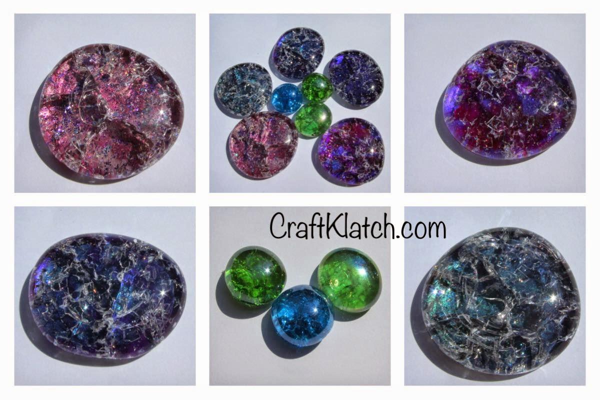 Craft Klatch ®: DIY Cracked Marble Nail Polish Jewelry ...