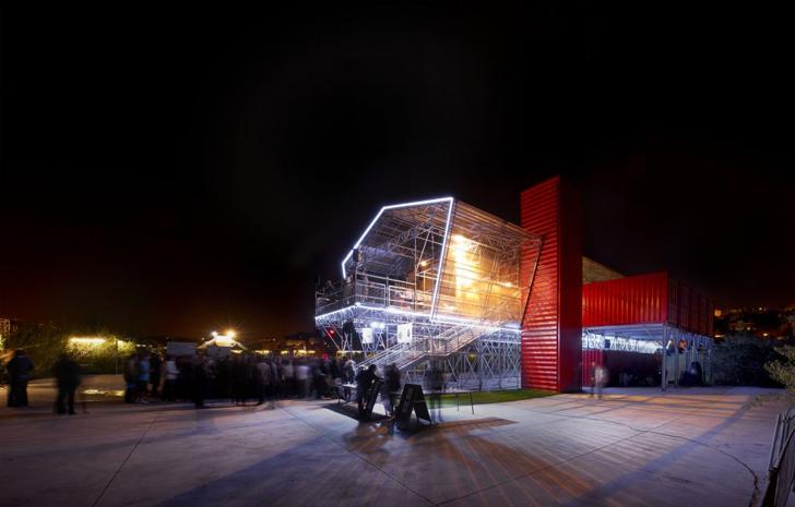 Ville hybride restaurant exotique pour l 39 le des ex usines renault - Les grandes tables de la friche ...