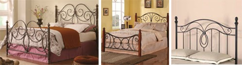 headboards made of wrought iron