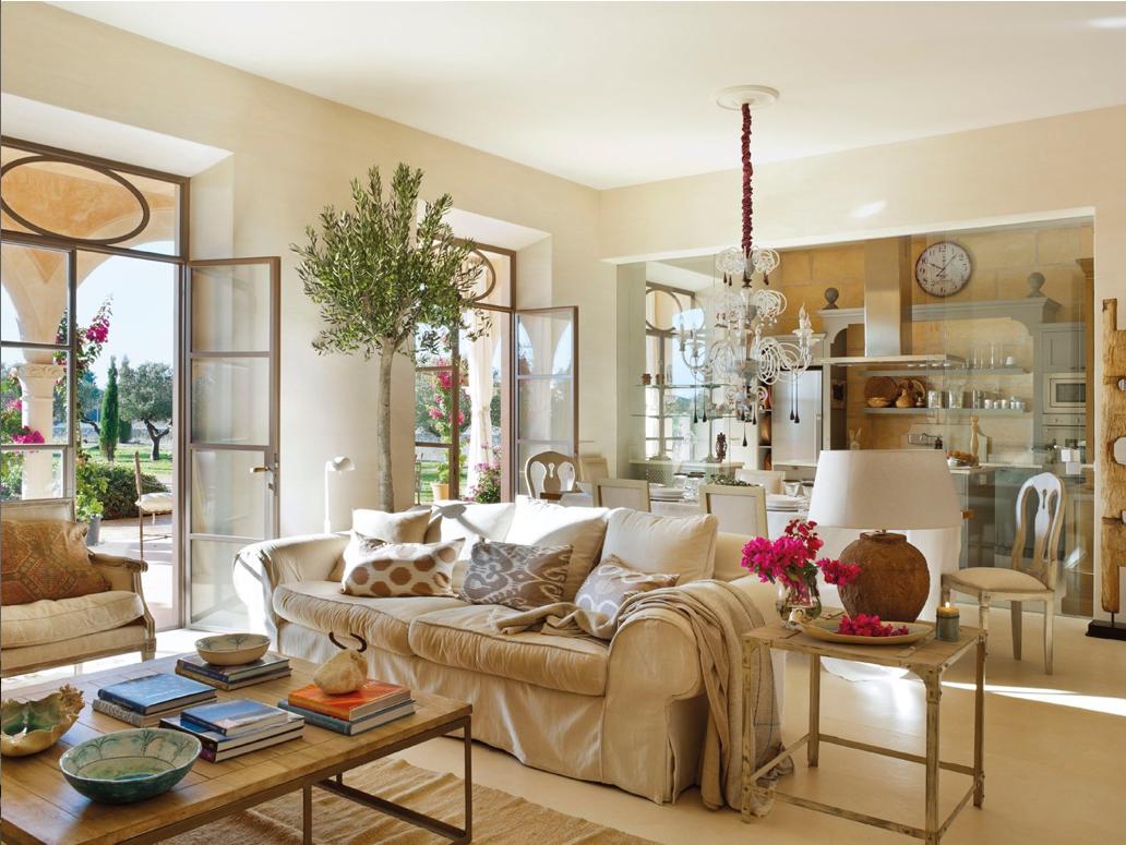 Casa tr s chic salas for El mueble online