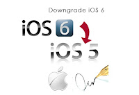 Downgrade iOS 6 to iOS 5