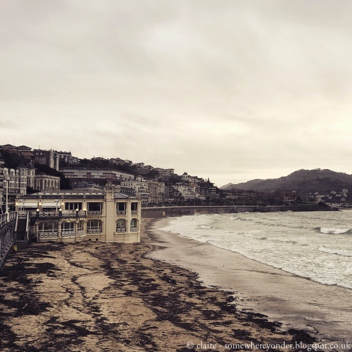 La Perla Spa on the beach in San Sebastian, Spain