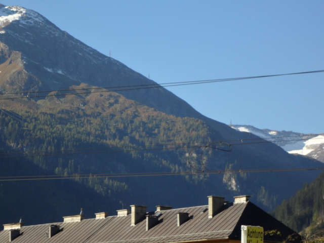 Snow Capped Alps at Bad Gastein
