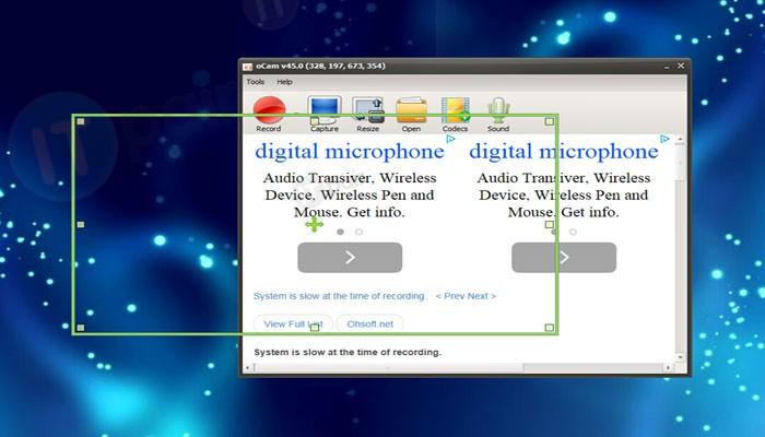 oCam 150 Screen Recorder