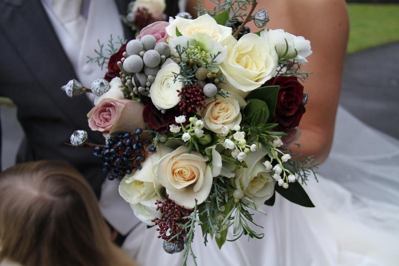charlotte amp gareths christmas wedding at st helens