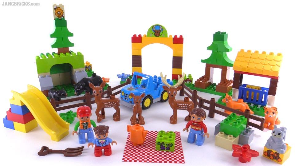 Lego Duplo Forest Park Review Set 10584