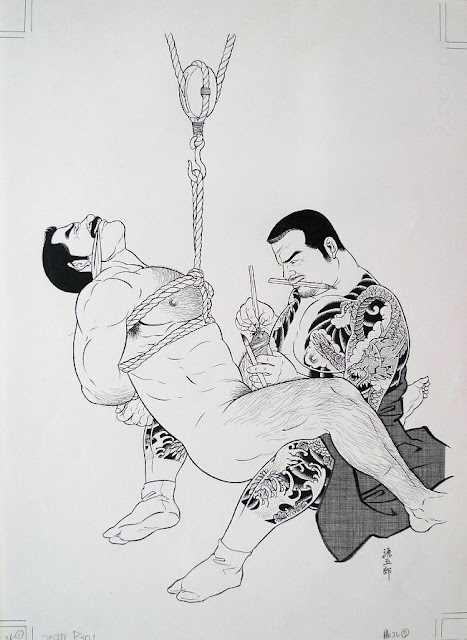 MALE DRAWING ART BLOG : GENGOROH TAGAME DRAWING