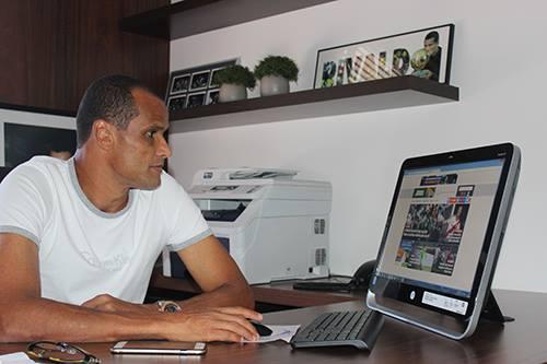Rivaldo anunciou sua aposentadoria quase dois meses depois de ter retomado a carreira (Foto: Divulgação/Mogi Mirim)