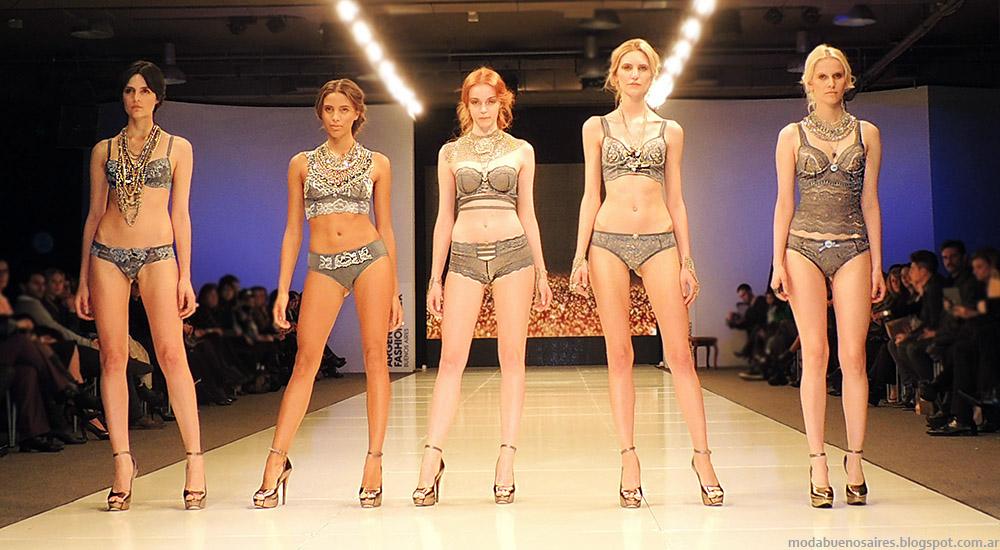Ara Intimates by Araceli Gonzalez Argentina Fashion Week primavera verano 2015.