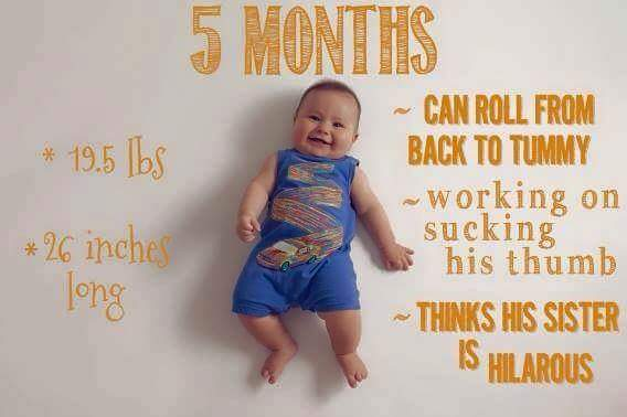 Baby-Growth-Month-05-Rolling