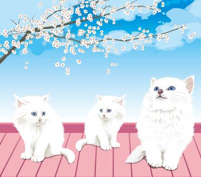 vectores de gatos