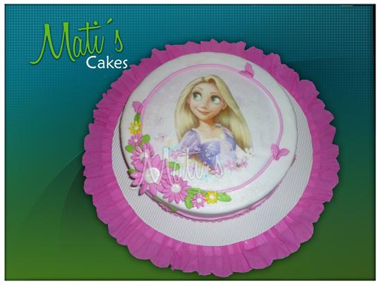 Rapunzel tortas decoradas - Imagui