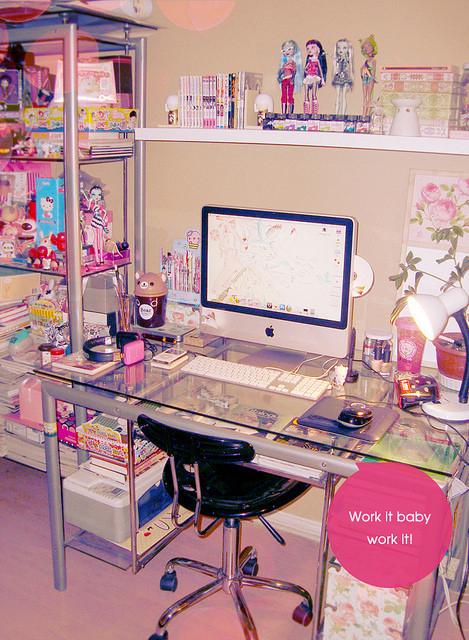 Momo s kawaii corner kawaii rooms for Bureau kawaii