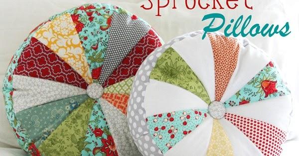 Tutoriales de patchwork almohadones redondos - Cojines redondos ...