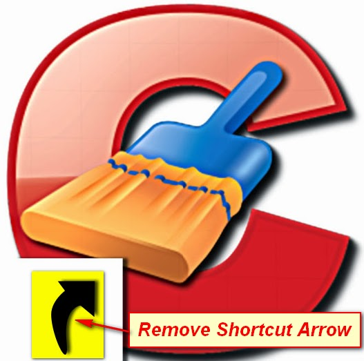 Remove shortcut arrow from desktop icons