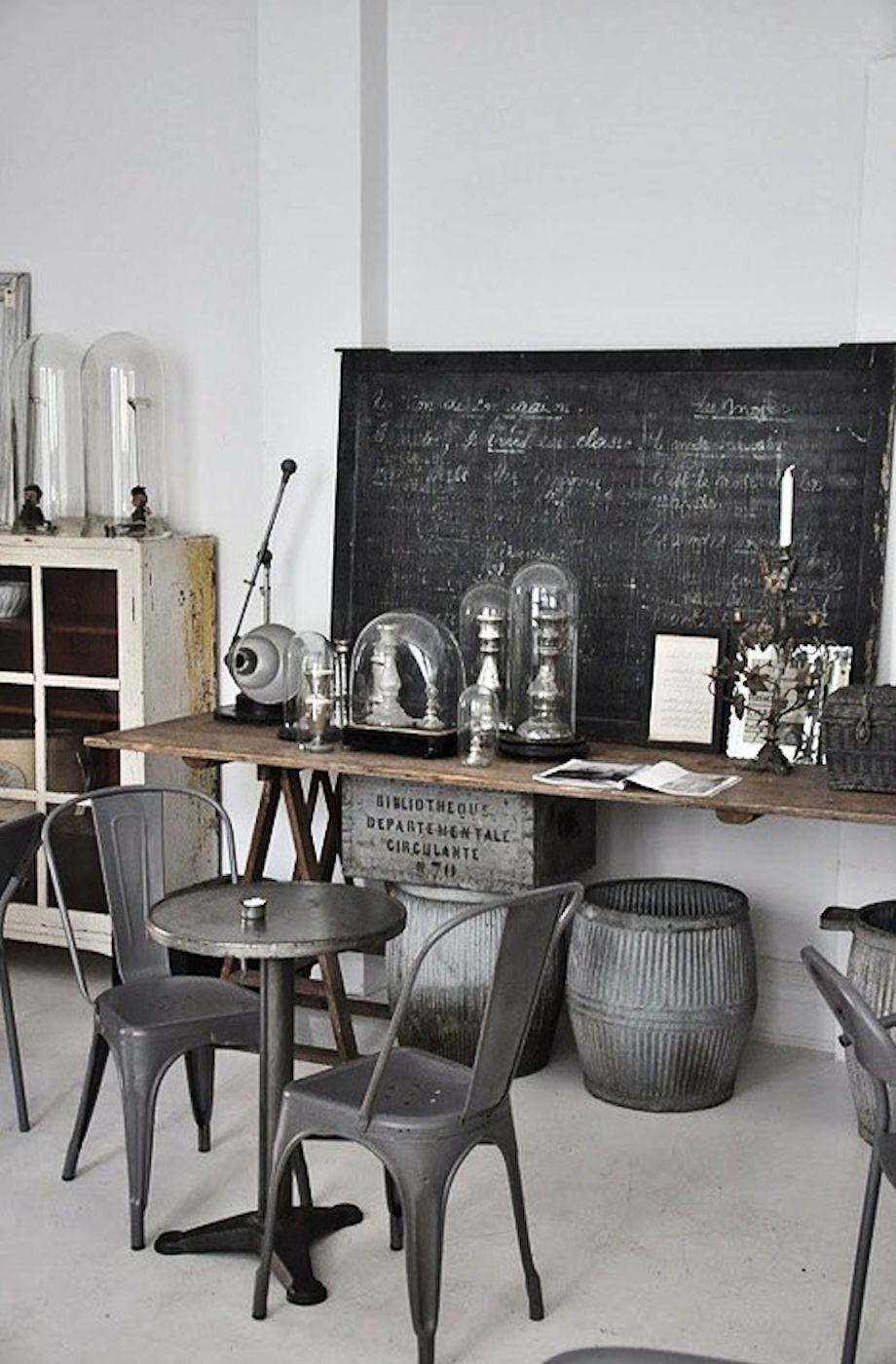 Simple everyday glamour industrial chic - Style industriel chic ...