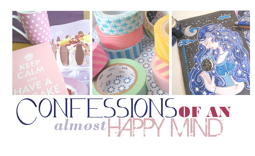 Confessions of an almost happy mind