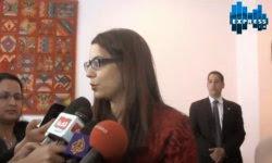 Amel Karboul au Marché International du Tourisme